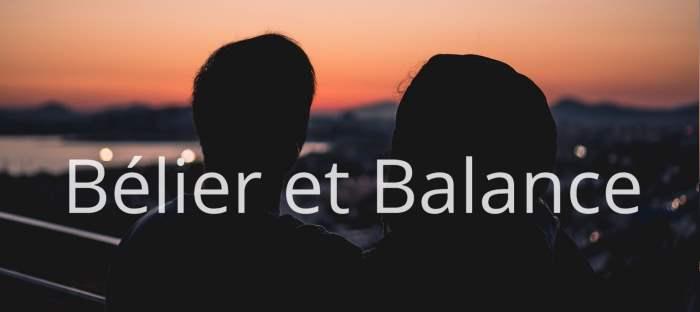 Homme Bélier et Femme Balance : Compatibilité des signes