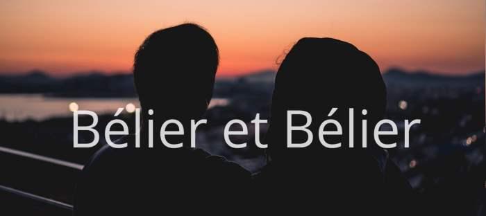 Homme Bélier et Femme Bélier : Compatibilité des signes