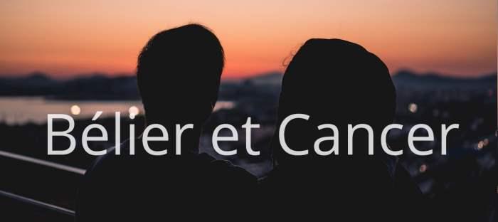 Homme Bélier et Femme Cancer : Compatibilité des signes
