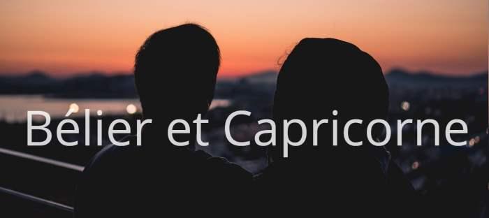 Homme Bélier et Femme Capricorne : Compatibilité des signes