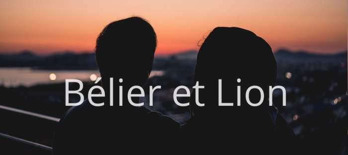 Homme Bélier et Femme Lion : Compatibilité de signes