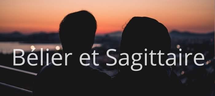 Homme Bélier et Femme Sagittaire : Compatibilité des signes