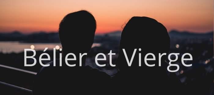 Homme Bélier et Femme Vierge : Compatibilité des signes