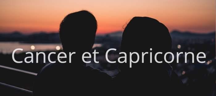 Cancer et Capricorne