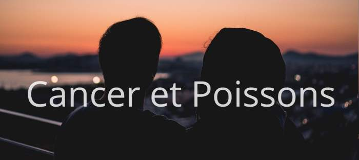 Cancer et Poissons
