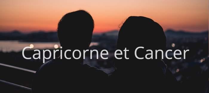 Homme Capricorne et Femme Cancer: Compatibilité de signes
