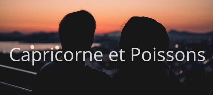 Homme Capricorne et Femme Poissons: Compatibilité des signes