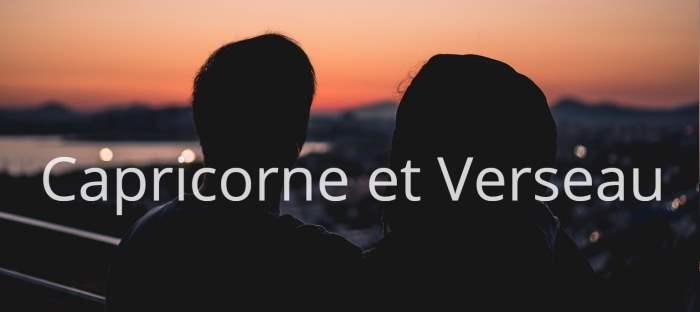 Homme Capricorne et Femme Verseau : Compatibilité des signes