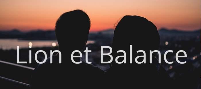 Homme Lion et Femme Balance : Compatibilité des signes