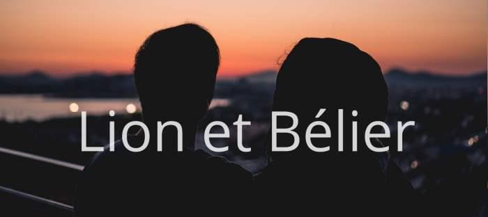 Homme Lion et Femme Bélier : Compatibilité des signes