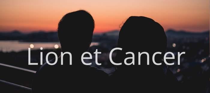 Homme Lion et Femme Cancer : Compatibilité des signes
