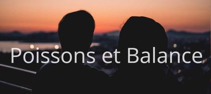 Homme Poissons et Femme Balance : Compatibilité des signes
