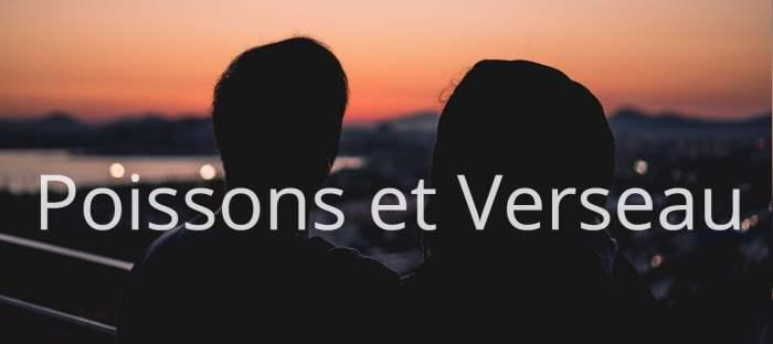 Homme Poissons et Femme Verseau : Compatibilité des signes