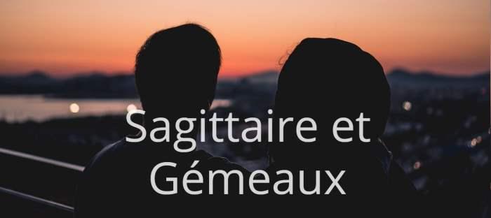 Homme Sagittaire et Femme Gémeaux : Compatibilité des signes