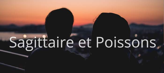 Homme Sagittaire et Femme Poissons : Compatibilité des signes