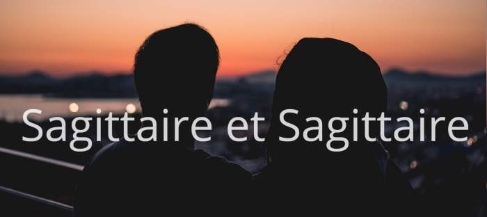 Sagittaire et Sagittaire