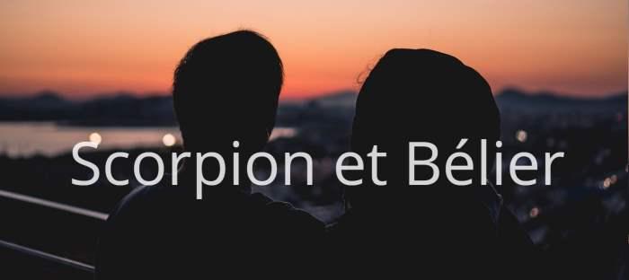 Homme Scorpion et Femme Bélier : Compatibilité des signes