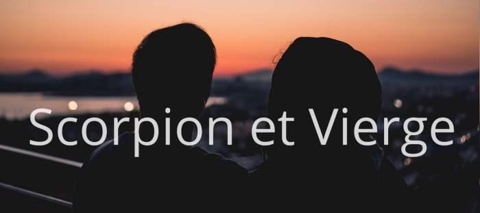 Homme Scorpion et Femme Vierge : Compatibilité des signes